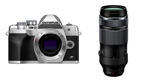 Olympus Announces the New OM-D E-M10 Mark IV Camera and 100-400mm Lens
