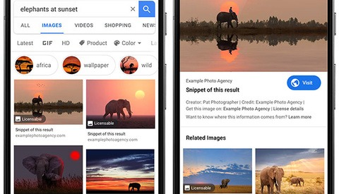 Google Adds New 'Licensable' Tag To Help Photographers Sell Photos