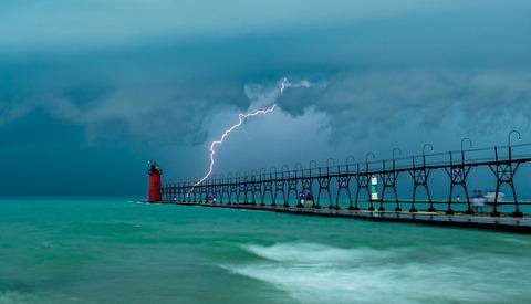 Storm Chasing a Meteotsunami