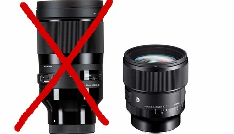 Has Sigma Finally Given up on Producing Oversized Lenses?