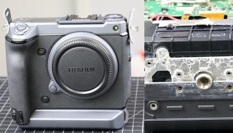 Taking Apart a $10,000 Mirrorless Fuji Camera Damaged by Saltwater