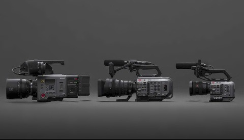 Sony Announces Cinema Line, FX6 Coming in 2020