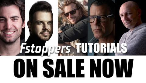 Save up to 60% Off on All Fstoppers Original Tutorials
