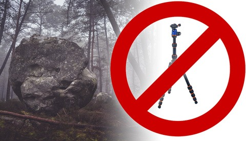 5 Reasons Why I Don't Use a Tripod for Landscape Photography