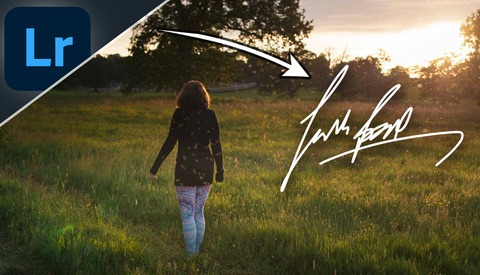 Use Lightroom to Add Your Signature to Photos in Under 60 Seconds