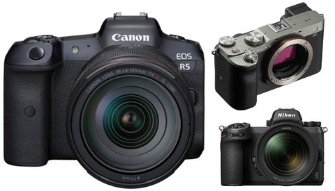 Canon Makes Rapid Gains in Mirrorless Camera Sales