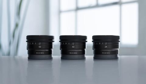 Sony Announces Three New Ultra-Compact Full Frame E-Mount Lenses