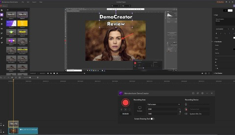 Screen Recording With Quick, Built-in Video Editing: Wondershare Offers DemoCreator