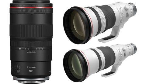 Canon Announces Three New Mirrorless Lenses
