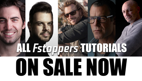 All Fstoppers Tutorials Up to 50% Off