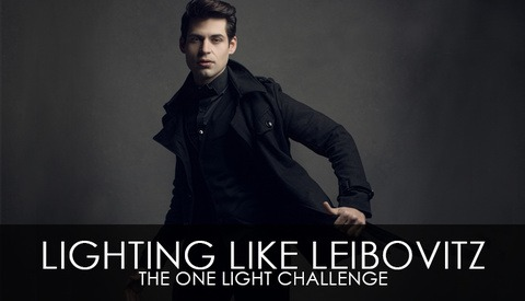 Lighting Like Leibovitz – The One Light Challenge