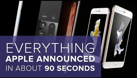 Watch Apples Latest Keynote Edited Down To 90 Seconds Of Useful Information
