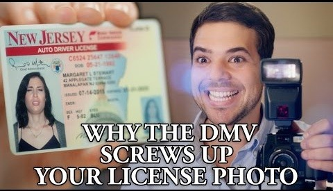 Why The DMV Screws Up Your License Photo (On Purpose)