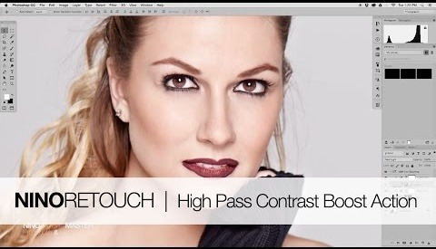 Photoshop Contrast Boost Using High Pass and Luminosity Masks