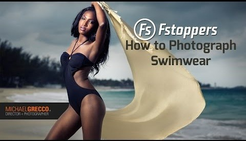 Michael Grecco Teaches How To Photograph A Sexy Swimsuit Dramatic Portrait