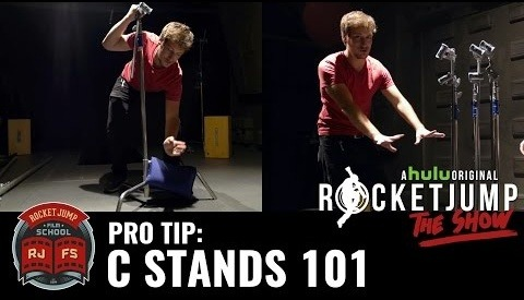 How to Properly Set Up a C-Stand