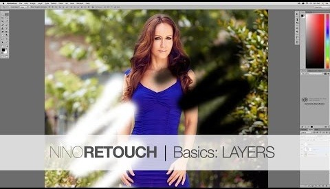 Photoshop Video Tutorial #1: Layers from The Beginners Basics Series