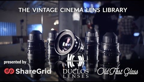 Vintage Cinema Lens Library Is Huge and Mesmerizing