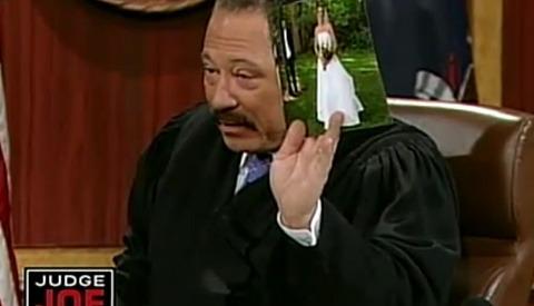 [Video] Judge Brown Tears Cheap Wedding Photog a New One