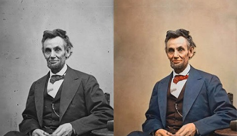 [Pics] Unbelievable Colorization Of Black And White Iconic Images