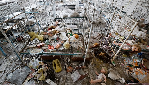 """[Pics] """"The Long Shadow Of Chernobyl"""", Disaster Site Revisited"""