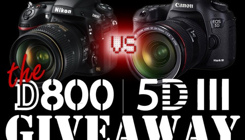 [Contest] Last Day To Win a Nikon D800 or Canon 5D Markiii