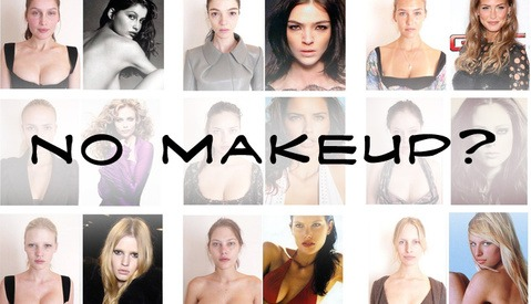 Super Models Without Makeup, Hair, Lighting, and Retouching