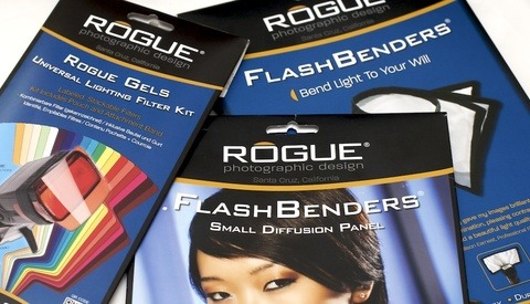 [Review] FlashBender Diffusion Panel, FlashBender, and Rogue Universal Lighting Filter Kit