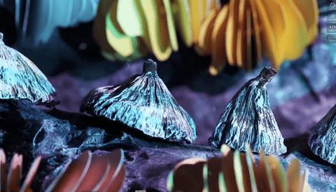 [Stop Motion] Fascinating 'Underwater' Stop Motion Video by Hayley Morris
