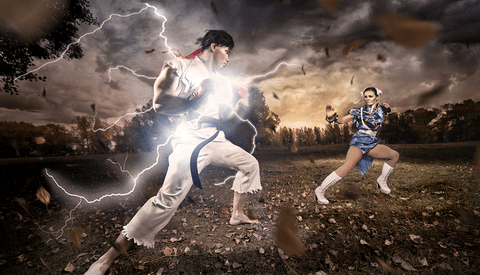 [Photos] Street Fighter Photoshoot!