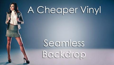 Cheap and Easy DIY Alternative For A Vinyl Seamless Backdrop