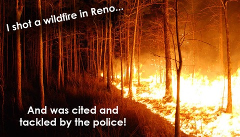 Nevada Journalist Tackled By Police While Covering Wildfires Near Reno