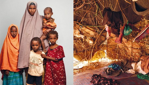 Behind the Scenes: James Mollison Shoots Portraits at a Kenyan Refugee Camp