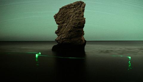 Unique Landscape Images Lightpainted By Natural Forces
