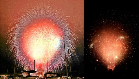San Diego Fireworks Snafu Results in Unintentional Art