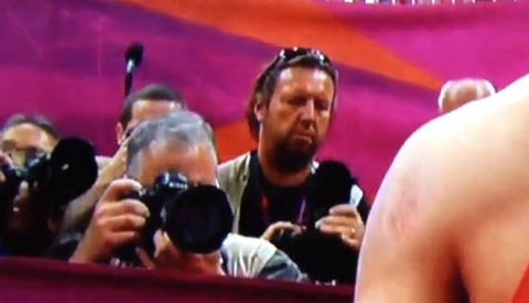 Olympic Photographer Leaves Lens Cap On