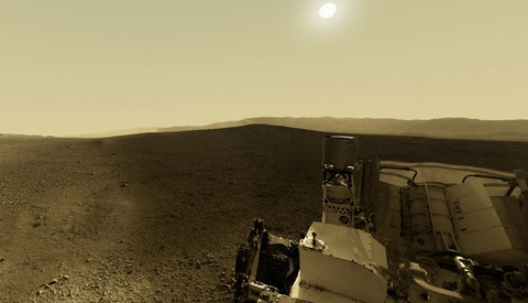 Check Out This Collection Of Amazing Panoramic Mars Images From The Curiosity Rover