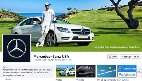 Mercedez-Benz USA's Timeline Image Is Badly Photoshopped