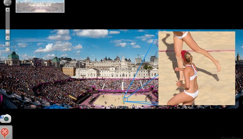 The 3.1 Billion Pixel Image Of Women's Volleyball At The Olympics