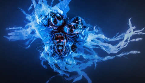 Behind The Scenes Video Of Making Water Demons With Black Lights And A Swimming Pool