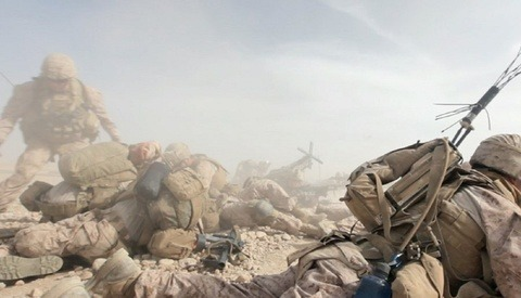 Photos from a US Marines Raid that Killed 20 Taliban Fighters