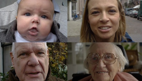 '100' Showcases People From Age 0 to 100 In Just 150 Seconds