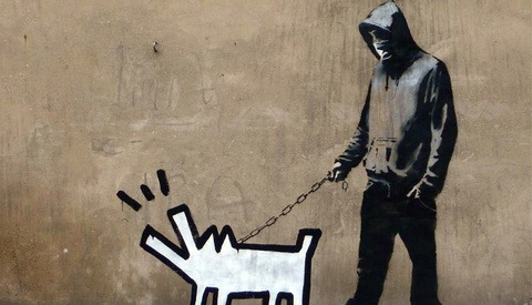 Banksy's Work As Animated GIFs
