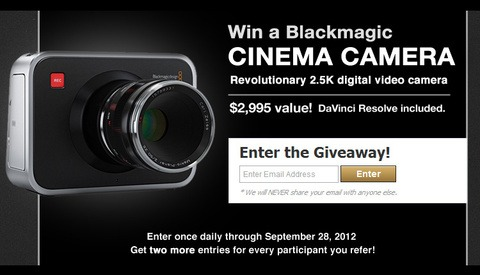 Only One Week Left! Fstoppers and PremiumBeat.com Are Giving Away A Blackmagic Cinema Camera
