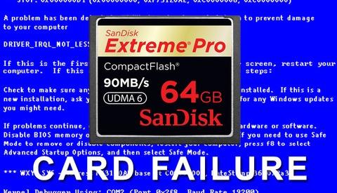 Has Your Memory Card Ever Failed?