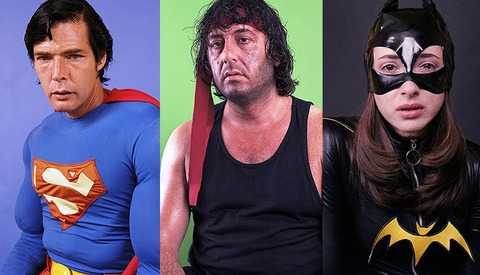 Super Sad: Super Heroes and Celebrities From The Walk Of Fame