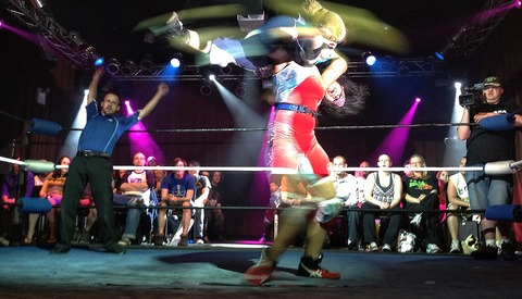 Luchador Fighter Photo Series Using Only A Custom iPad3 And Snapseed