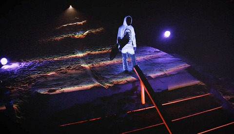 """Snowboarding With Frickin Laser Beams: The X-Games Meets TRON in """"Black Snow"""""""