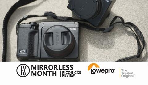 Ricoh GXR Mirrorless Camera Review