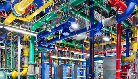 Google's Photo Tour of Their Sprawling Data Centers